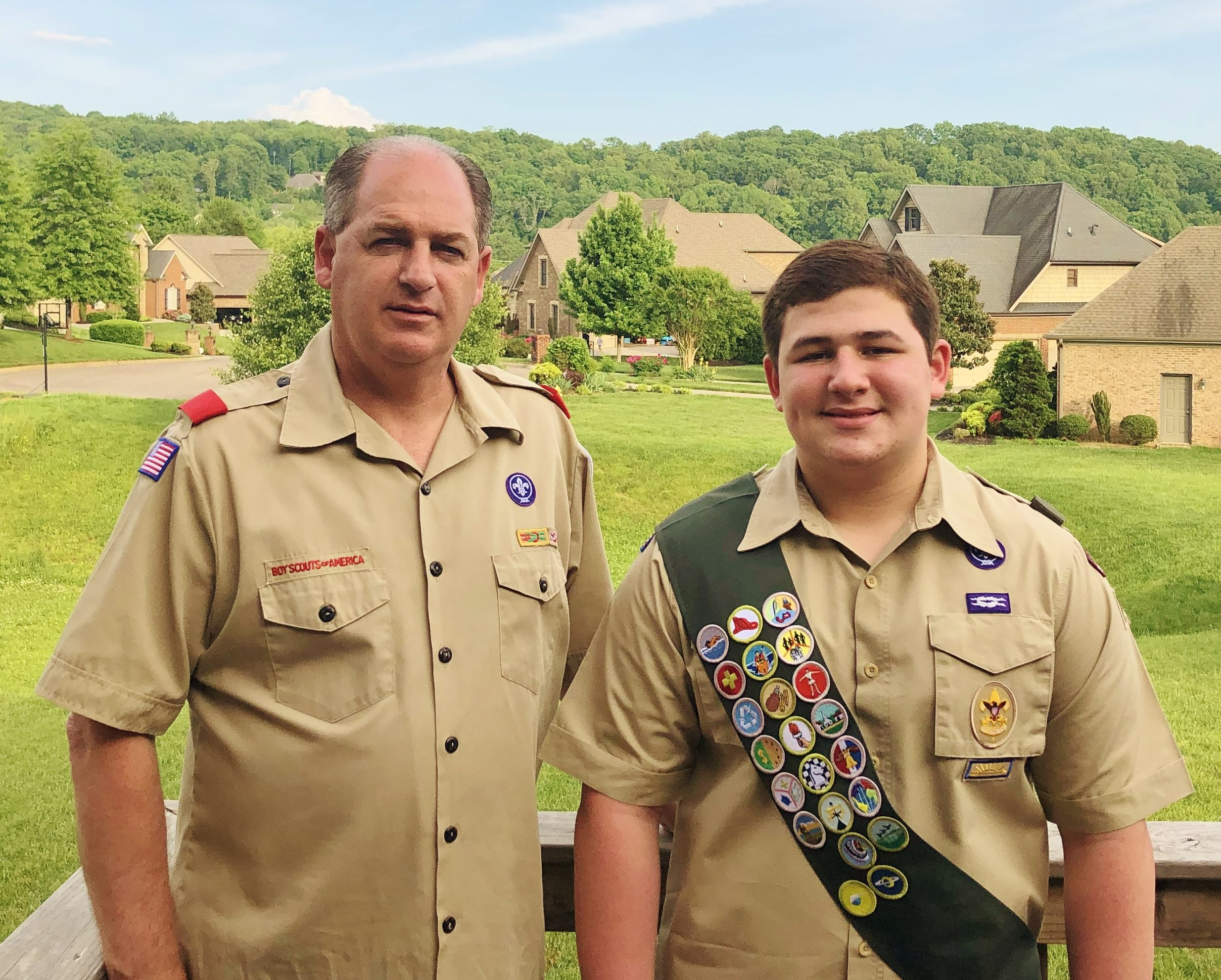 Scout's Eagle Project Honors Grandmother's Life