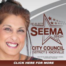 Re-Elect Seema Singh